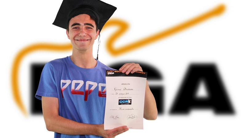 Giosuè Barbazza - 16 anni - diplomato CCR® 2019