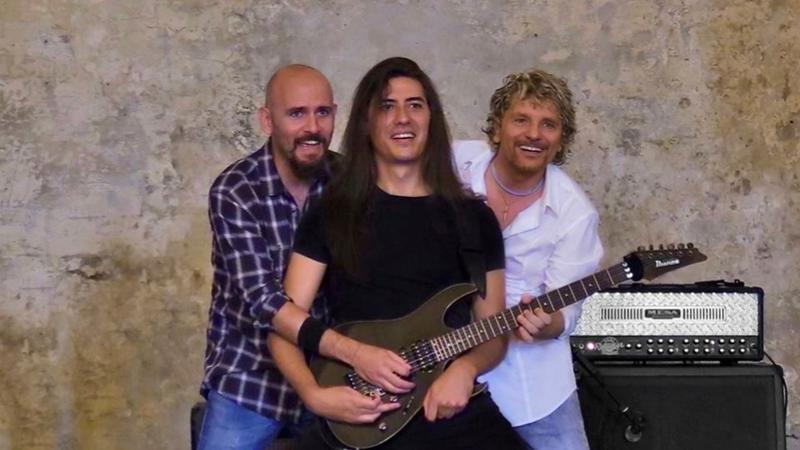Donato Begotti, Roberto Fazari e Andrea Filippone al MusicWall 2018 - Pizzighettone (CR)