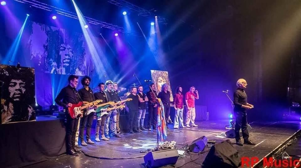 The Jimi Hendrix Revolution - Saluti finali - Teatro della Luna