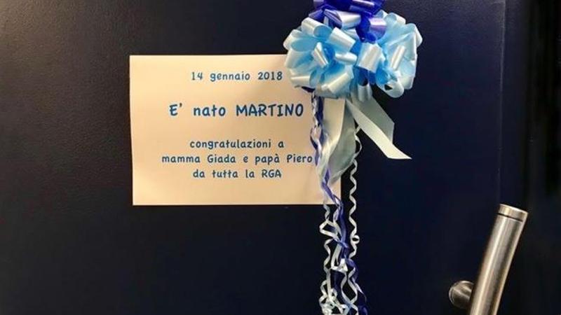14 gennaio 2018. E' nato Martino il bimbo di Piero Marras