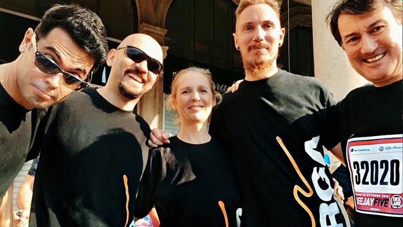 14 ottobre 2018 - Siamo in piazza del Duomo a Milano per partecipare alla DJ Five