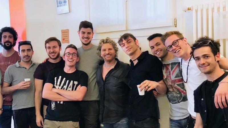 Donato Begotti e i suoi Ragazzi MCR® alla fine degli esami di diploma - giugno 2018